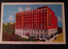 Saint John New Brunswick CPR photo Postcard Admiral Beatty Hotel