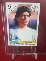 Diego Maradona Argentina World Cup Story Panini Sticker