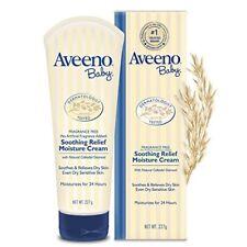 Crema Hidratante Hipoalergénica Piel Sensible Seca Agrietada Aveeno Baby