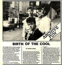 10/1/81PGN07 STRAY CATS ARTICLE & PICTURE : BIRTH OF THE COOL