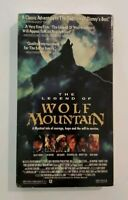 NEW The Legend Of Wolf Mountain VHS Helmdale 1992 Family Bo Hopkins HTF SEALED