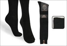 6 Paar Damen Luxus Kniestrümpfe schwarz ohne Naht Gr. 39/42