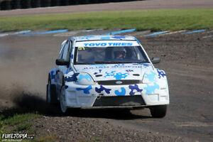 Xsport Racing Ford Fiesta MK6  Fibreglass JWRC Complete kit