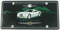 1998 Concours D'elegance Chyrsler License Plate - The Lodge at Pebble Beach