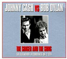 SEALED NEW CD Johnny Cash, Bob Dylan - Johnny Cash Vs Bob Dylan: The Singer And