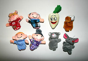 The Enormous Turnip finger puppets Fairy tales Nursery Rhymes Story telling