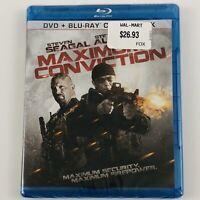 Maximum Conviction (Blu-ray/DVD, 2-Disc set) Steven Seagal Steve Austin
