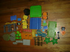 62 Pcs GO DIEGO GO MEGA BLOKS BLOCKS CARS PEOPLE ANIMAL REPLACEMENT LOT DUPLO SZ