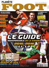 Planete Foot - Le Guide de la Saison 2015-2016 - France Season Preview - Ligue 1