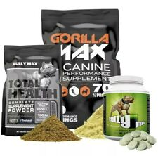 COMBO PACK - BULLY MAX + GORILLA MAX + TOTAL HEALTH - OFFICIAL DEALER