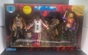 House of 1000 Corpses - 4pc Action Figure Set - VERY RARE - Rob Zombie Signed!