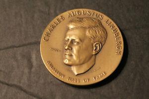 Medal:  CHARLES AUGUSTUS LINDBERGH.  Aviation Hall of Fame.   1967.