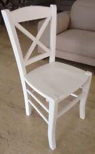 Sedie da pranzo bianco in legno massello | Acquisti Online su eBay