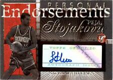 2004-05 Topps Pristine Personal Endorsements #PS Peja Stojakovic B AUTO - NM-MT