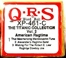 QRS Word Roll (NEW) THE TITANIC COLLECTION Vol. 2 XP-461-C Player Piano Roll