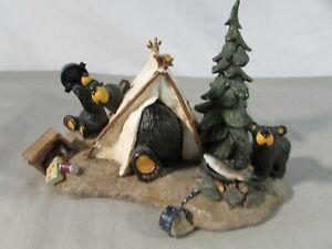 Jeff Fleming Bearfoots Camp Runamuck Figurine