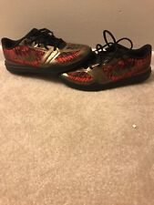 NIKE KOBE  BLACK/RED/GOLD YOUTH SIZE 7 IN GREAT CONDITION