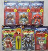 Neo Vintage Collection SUPER 7 WAVE 2 MOTU Masters Robot He-Man Beast Man Teela