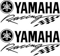 Yamaha Racing logo vnyl decal sticker motorcycle decal laptop car van