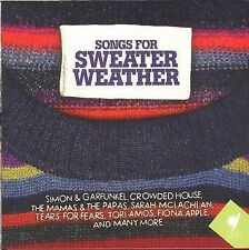 Songs For Sweater Weather 2-disc CD NEW Simon McLachlan
