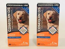 2 Cosequin DS 120 Tablets Joint Health Supplement Dogs 2 SEALED BOXES x 3/2023