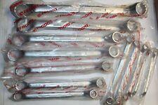 "FACOM No 55 SAE LARGE SAE Offset-Ring Wrench SET FRANCE 12pc NOS 1 5/8""-11/32"""