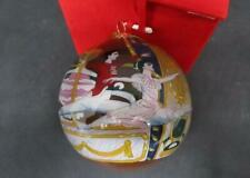 Moscow Ballet Classical Ballet Collection Reverse PaintGlass Christmas Ornament