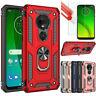 Pour Motorola Moto G7 Plus / Play / Alimentation / Supra Étui Chocs Armure +Film
