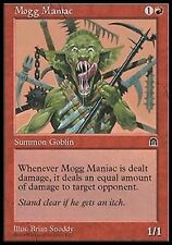Mogg Maniac NM/PL Stronghold MTG Magic The Gathering Red English Card