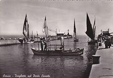 CERVIA - Traghetto sul Porto Canale 1954
