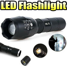 Zoomable 3800Lm Lumens LED Flashlight Hand Torch T6 Hiking Outdoor Light F