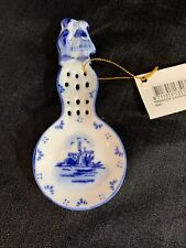 Delftware Holland Spoonerst Dutch Boy And Girl