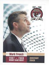 2007-08 Hershey Bears (AHL) Mark French (HC Fribourg-Gottéron)