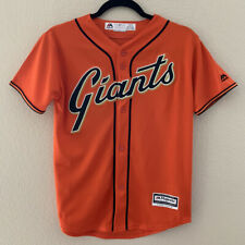 San Francisco Giants Youth Medium Jersey M.Bumgarner 10/12 Orange Cool Base MLB