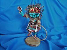 Native American Kachina Sun Face Doll-Signed F Largo-Vintage-Hopi/Navajo/Zuni
