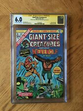Giant-Size Creatures #1 Signed Tony Isabella & Don Perlin 1st Tigra 6.0 FN CGC