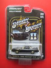 GREENLIGHT HOLYWOOD 'SMOKEY AND THE BANDIT II' BANDITS 1980 PONTIAC T/A VHTF