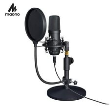 MAONO USB Microphone Kit Professional Podcast Streaming Microphone Condenser