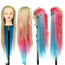 27'' Beige Hairdressing Long Hair Mannequin Doll Training Head with Clamp ZY5