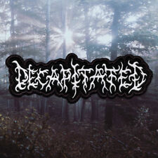 Decapitated   Embroidered Patch   Poland   Polish Death Metal Band