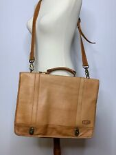 Vintage Dorado Leather Briefcase Attache Laptop Messenger Bag