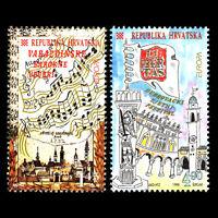 Croatia 1998 - EUROPA Stamps Festivals and National Celebrations - Sc 357/8 MNH