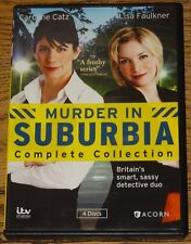 MURDER IN SUBURBIA COMPLETE SERIES WITH SUBTITLES USA R1 DVD SENT FROM UK