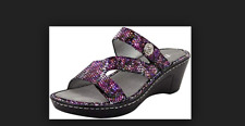 Alegria Loti Wedge Sandal  Funtastic Women's EU40 US 10 New