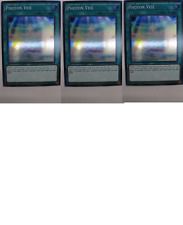 3X Photon Veil -SPWA-EN050- -NM- -Super Rare- Yugioh Spirit Warriors