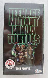 f.h.e. Teenage Mutant Ninja Turtles The Movie Unopened original Shrink Wrap VHS