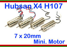 7 x 20mm Micro Hobby Motor for HUBSAN X4 LED Walkera Ladybird V939 U816 881 x 4