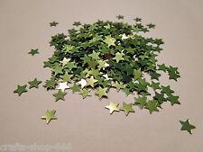 100 Sterne Grün Streudeko Tischdeko Kartengestaltung Basteln  ca.6mm