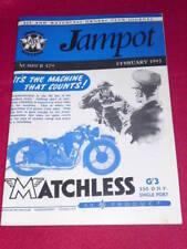 JAMPOT - AJS & MATCHLESS - Feb 1993 # 479