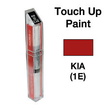KIA OEM Brush&Pen Touch Up Paint Color Code : 1E - Tomato Red